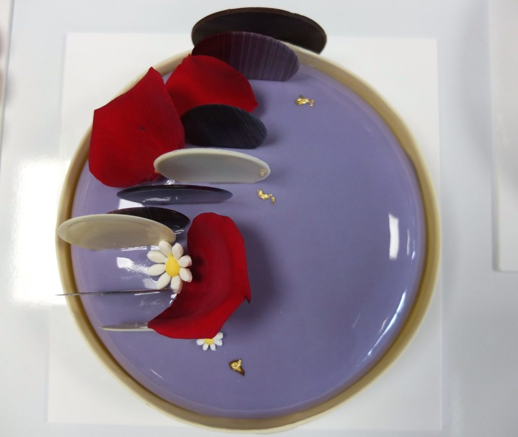 Cheese cake cassis - Cécile Farkas Moritel